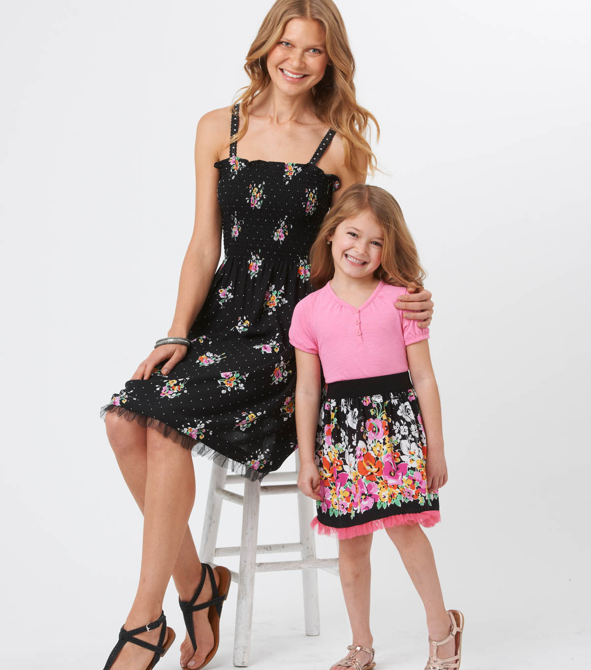 Style in and Instant Mommy and Me Dress and Skirt
