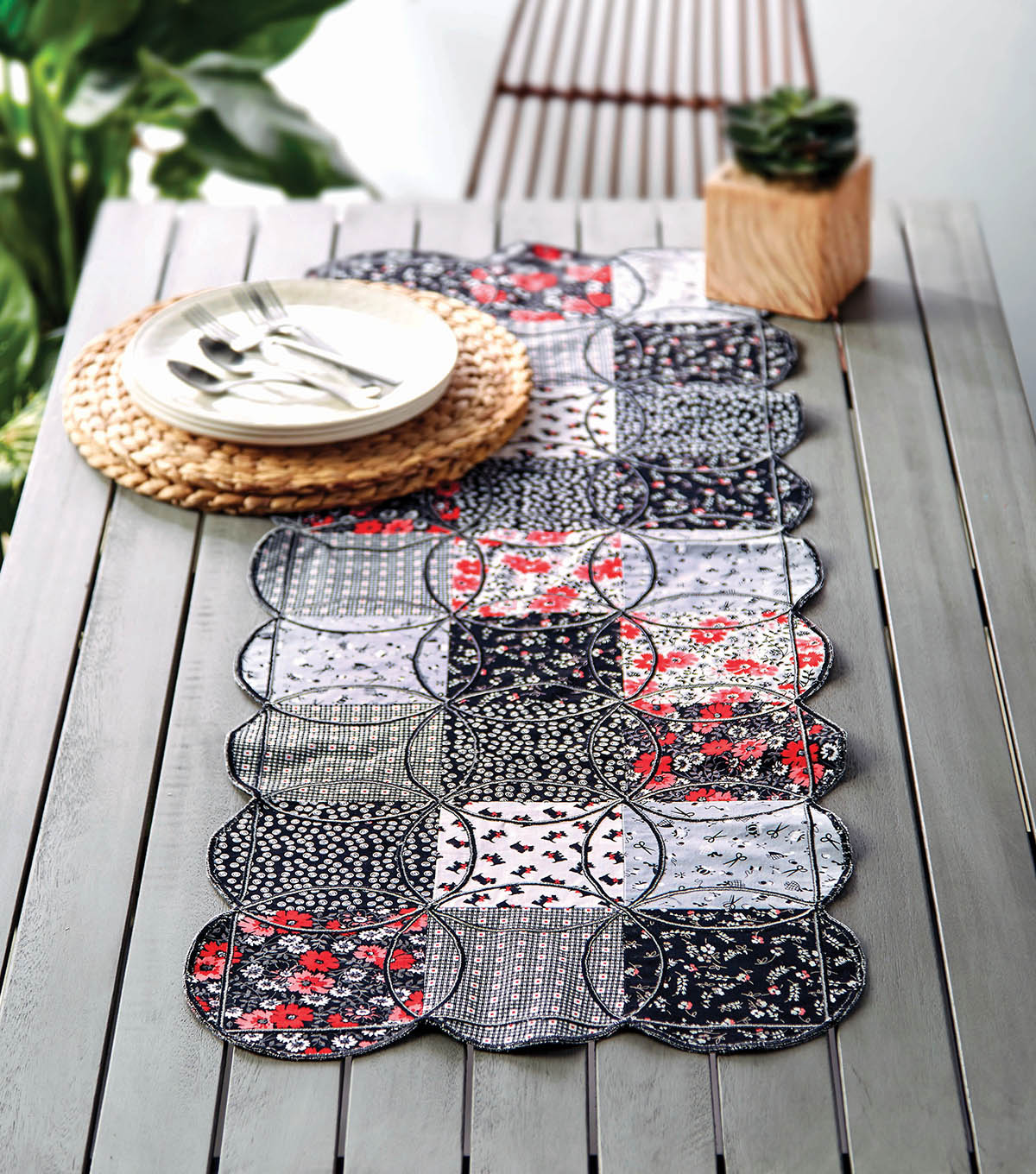 how to make a circle table runner joann