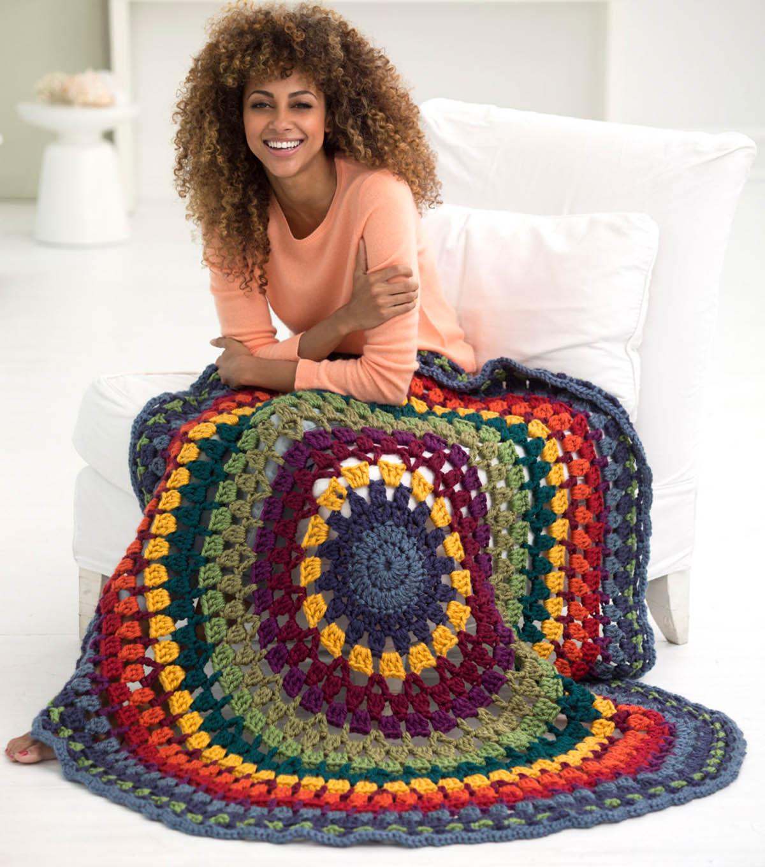 How To Crochet A Newfield Circle Afghan Joann