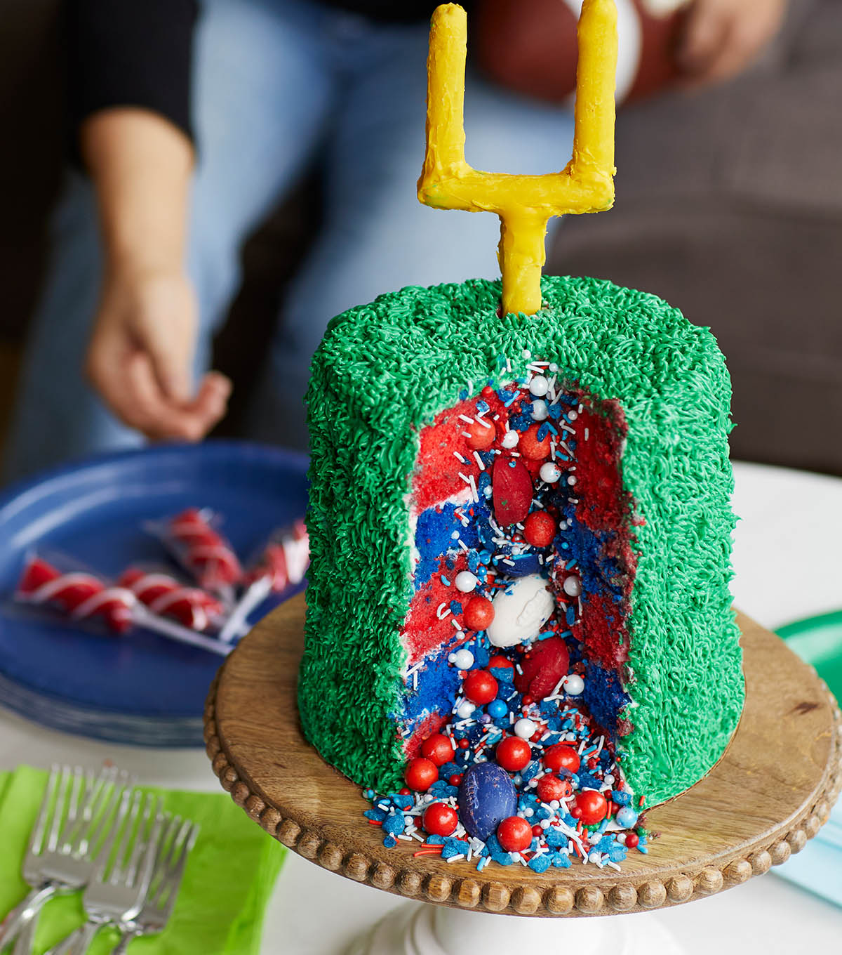 How To Make A Surprise Game Day Cake  JOANN