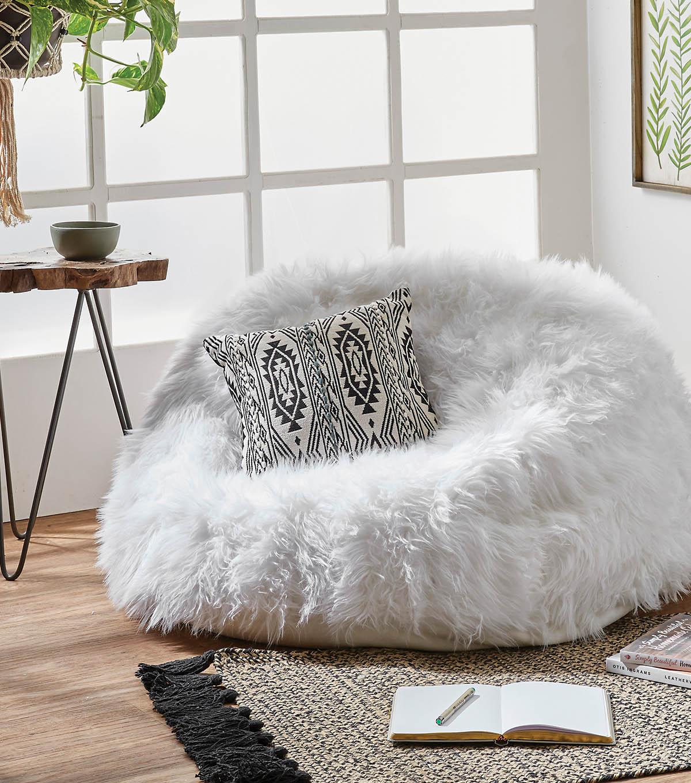 How To Make A Faux Fur Bean Bag Chair Joann