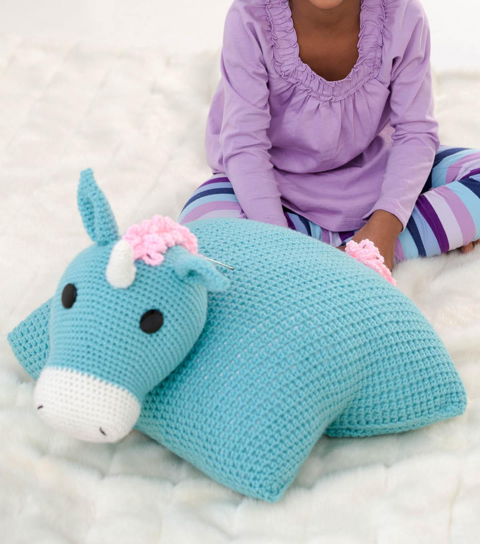 How To Crochet A Unicorn Pillow Pal | JOANN