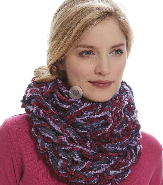 Seed Stitch Arm Knit Cowl | JOANN
