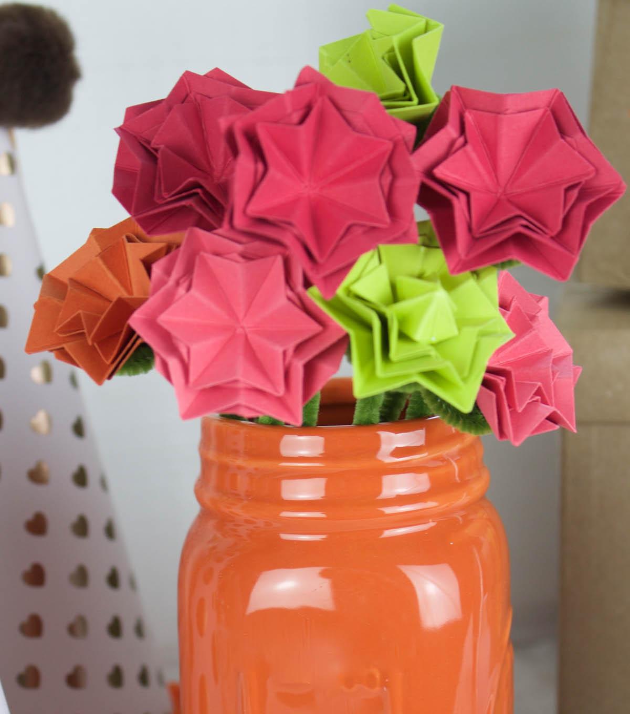 Childs Birthday Party Paper Flower Arrangement Joann