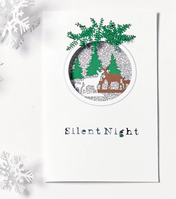 Diy Cricut Christmas Cards And Christmas Gift Tags Joann