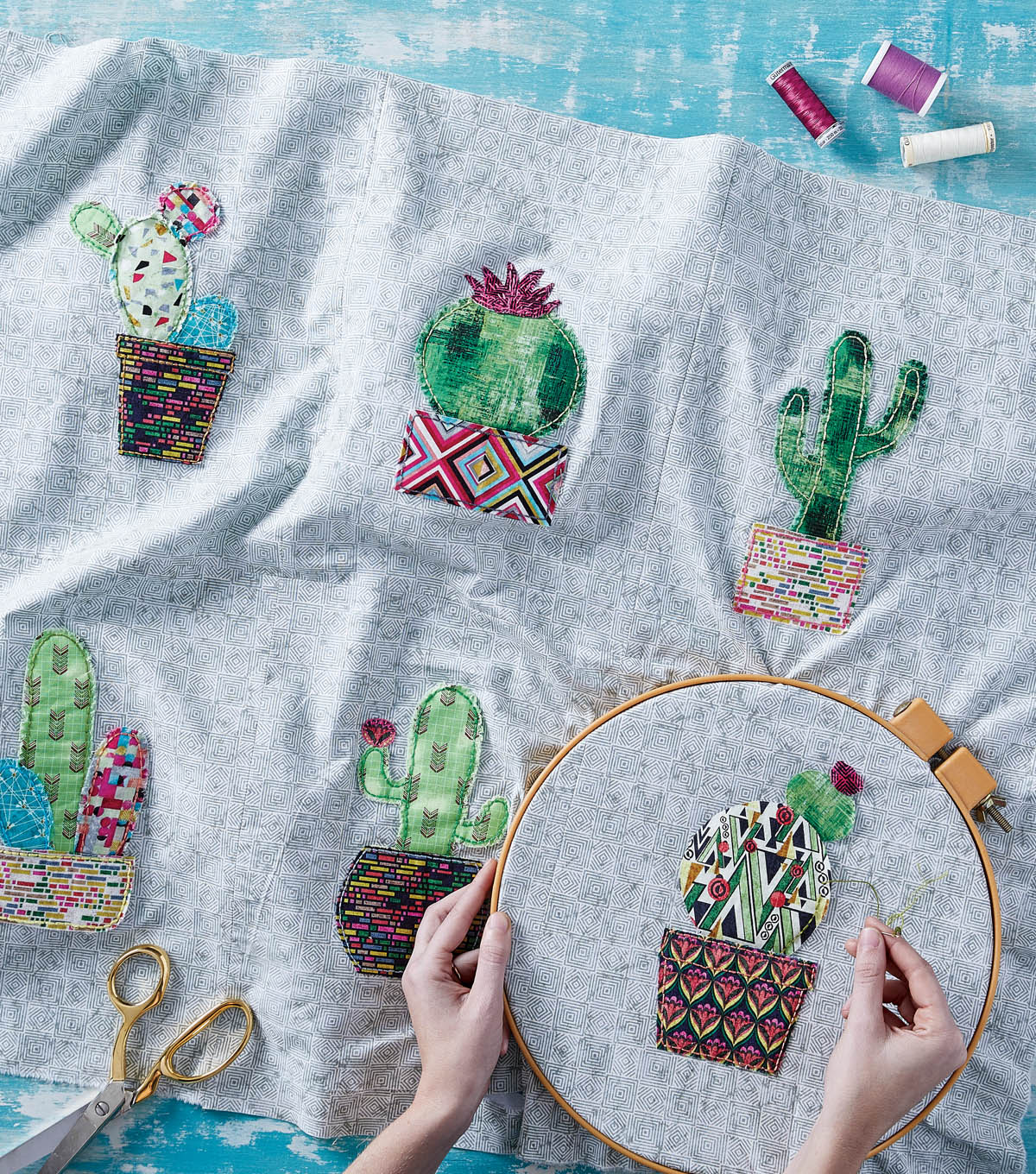 How To Make A Cactus Quilt Wall Hanging Joann