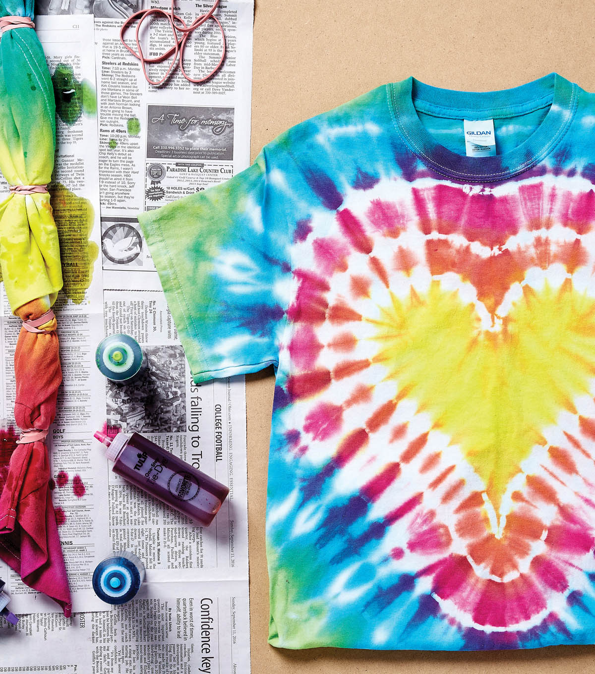 114e058382 How To Make A Tie Dye Shirt With Tulip | JOANN