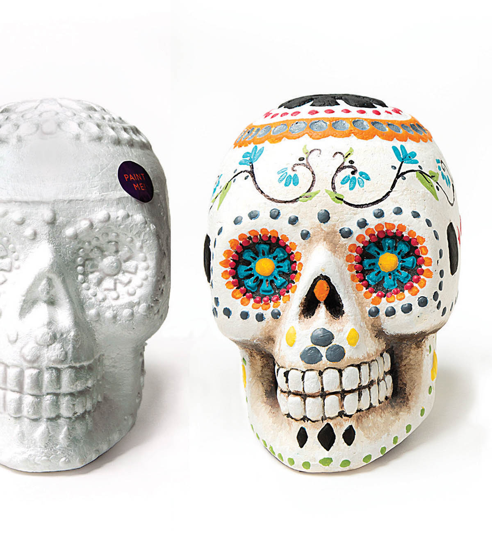 How To Make A Sugar Skull - DIY Halloween | JOANN