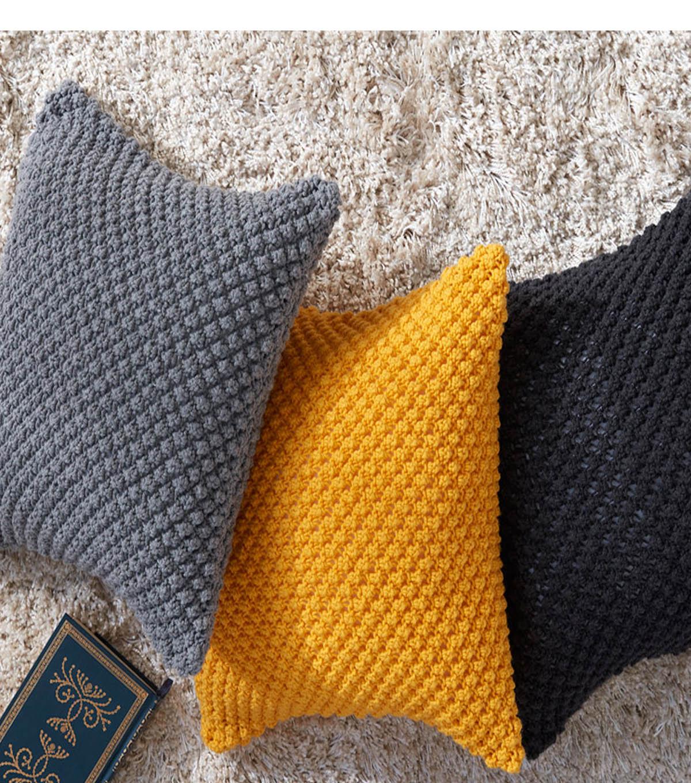 How To Knit A Pebble Pop Knit Pillow | JOANN
