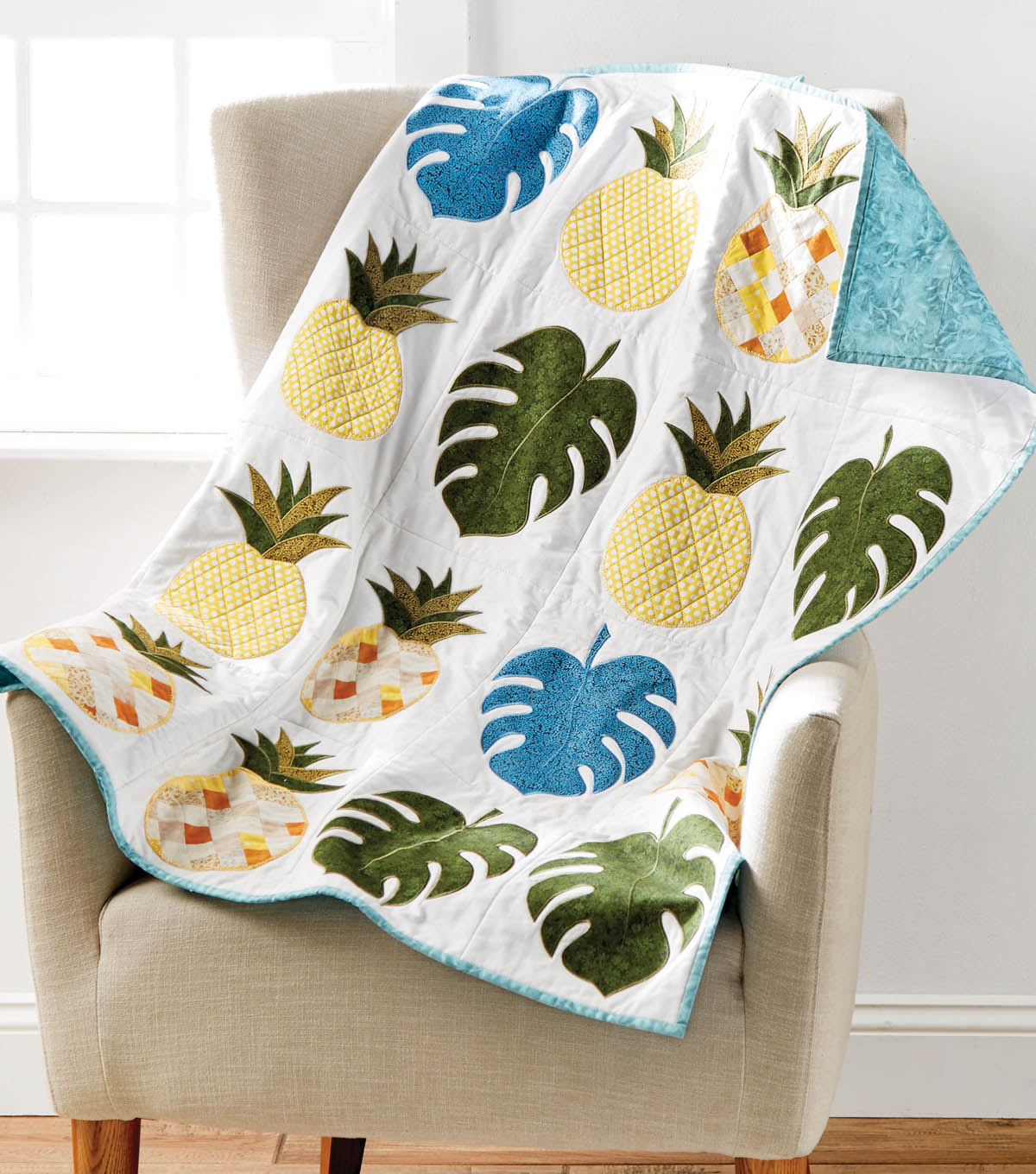 How To Sew A Pineapple Quilt Wall Hanging
