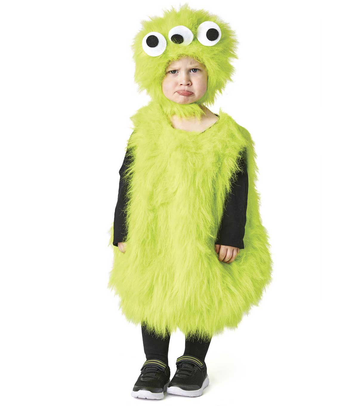 How To Make A Green Fur Monster Costume
