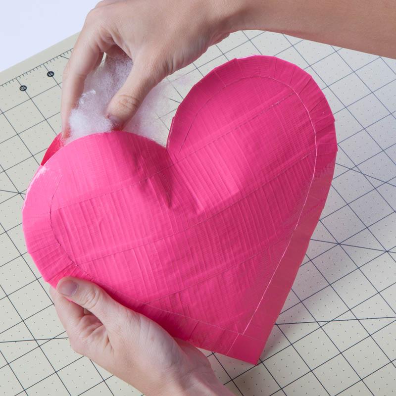 How To Make a Duck Tape 3D Heart | JOANN