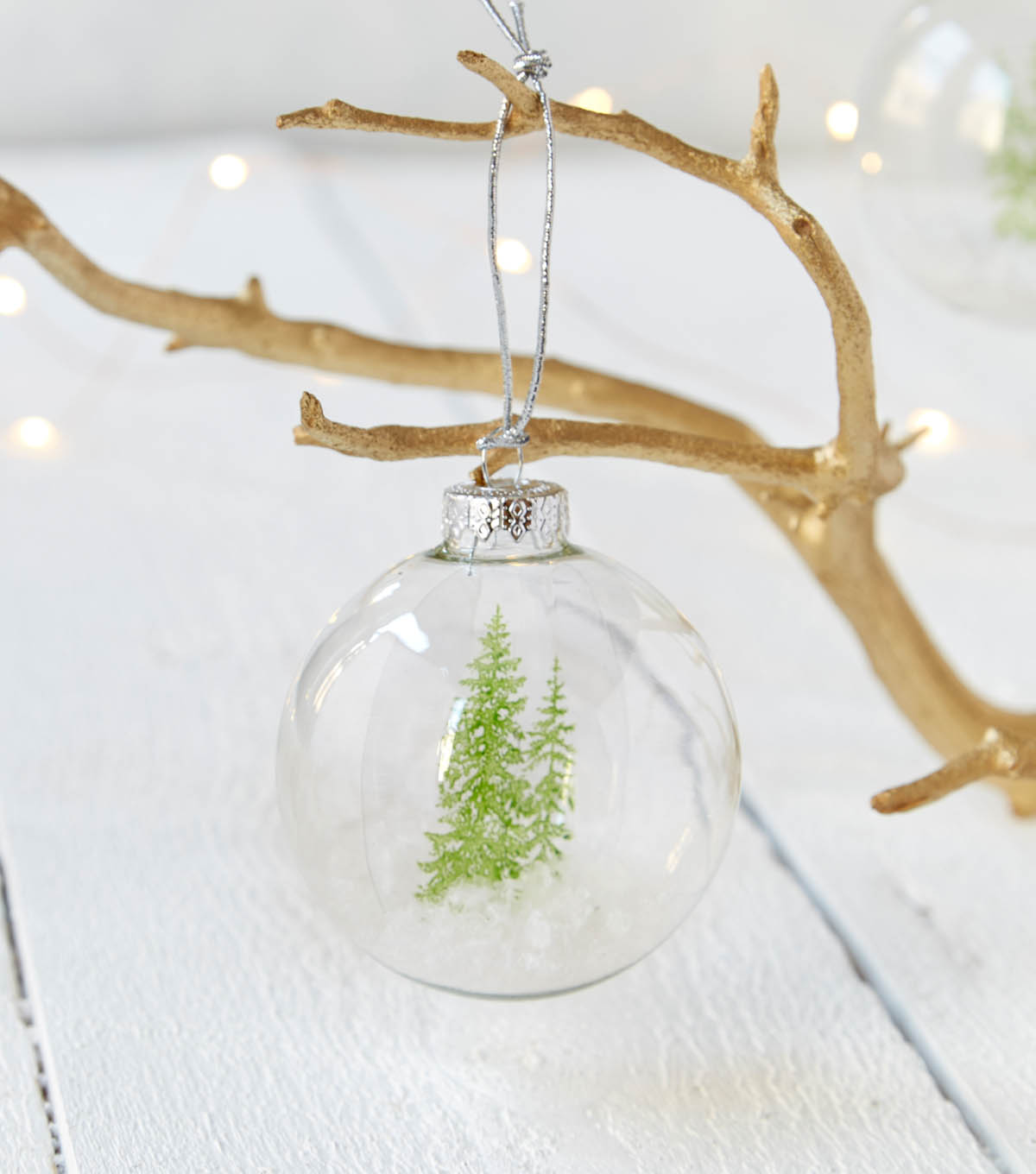 How To Make Pine Tree Ornaments