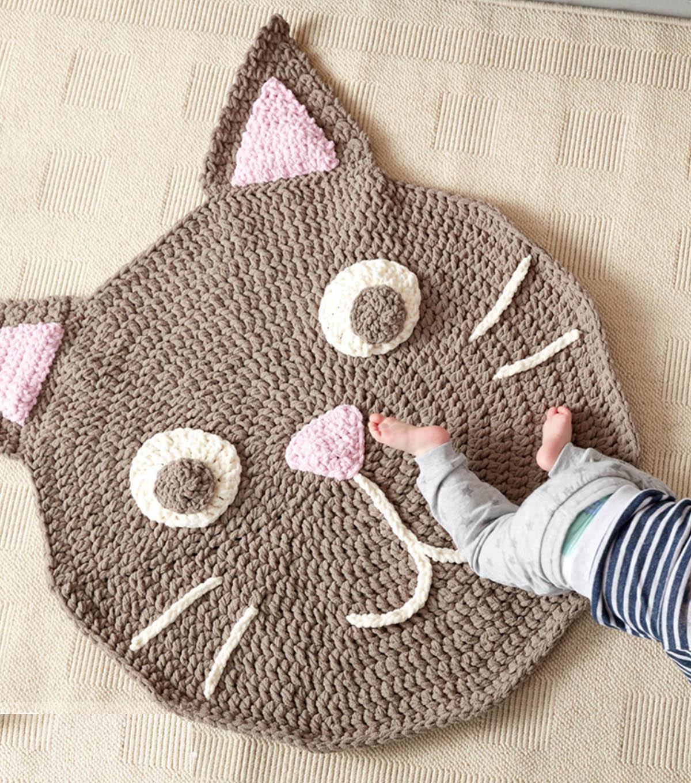 Make A Purrrfect Crochet Play Rug | JOANN