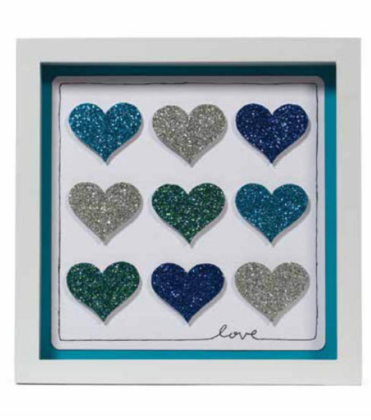 Glitter Paper Frame - Hearts | JOANN