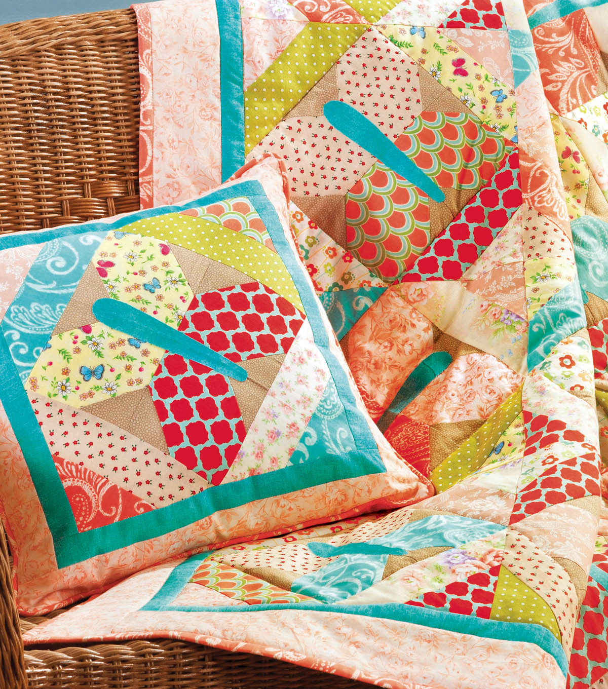Butterfly Quilt and Pillow