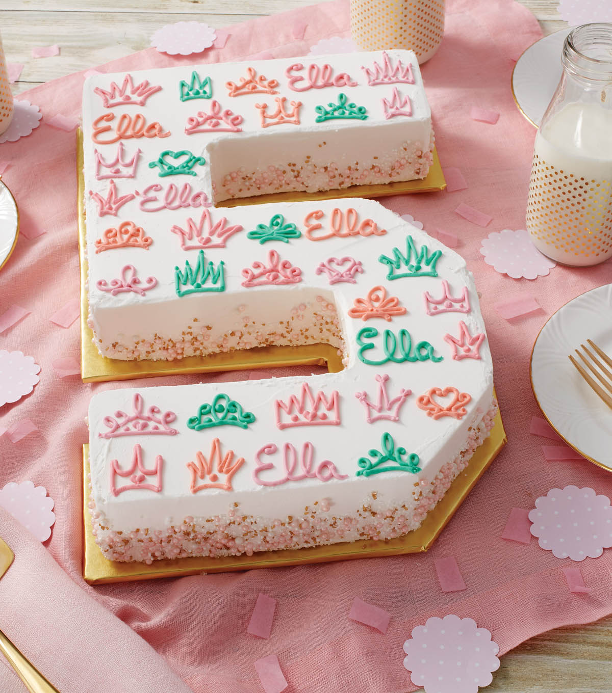 How To Make A Letter Or Number Birthday Cakes Joann