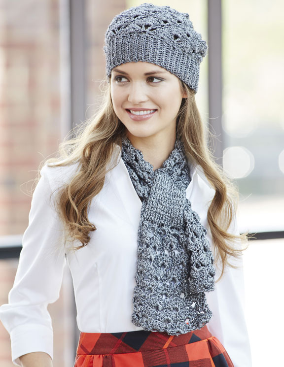 Silver Screen Hat And Scarf Joann