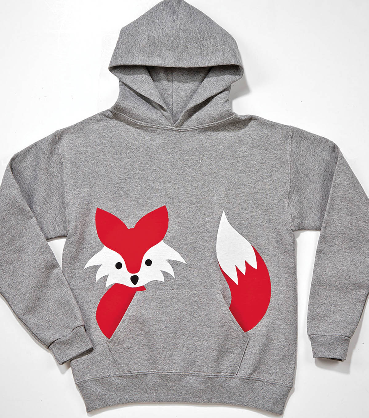 Fox Hooded Sweatshirt