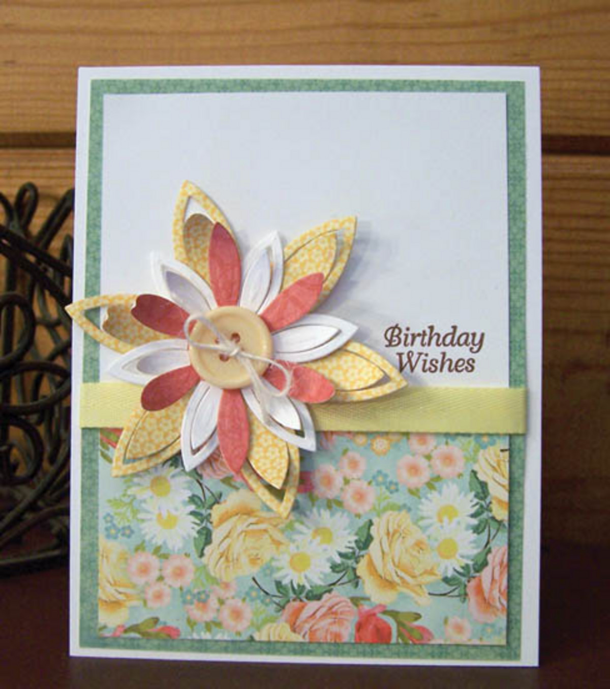 Simply Elegant Birthday Card