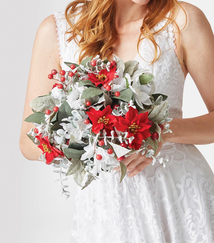 How To Make A Winter Wedding Bouquet Joann