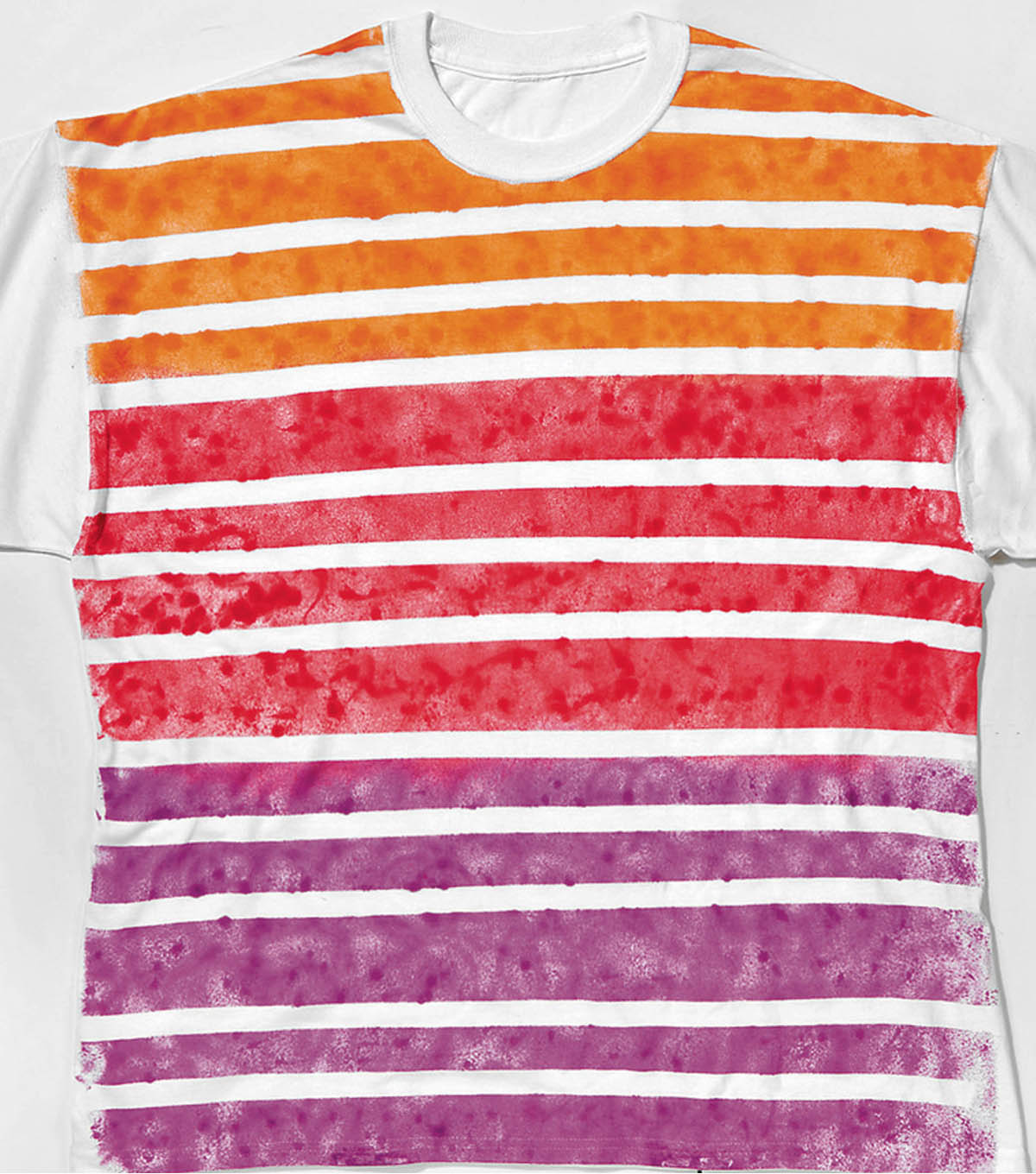 Painted Striped T-Shirt