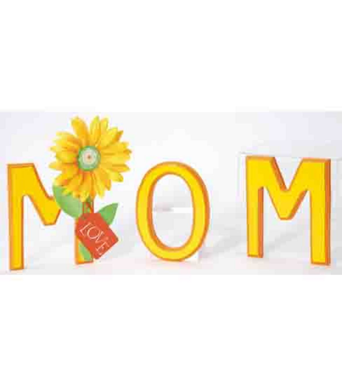 Mom Wooden Letters