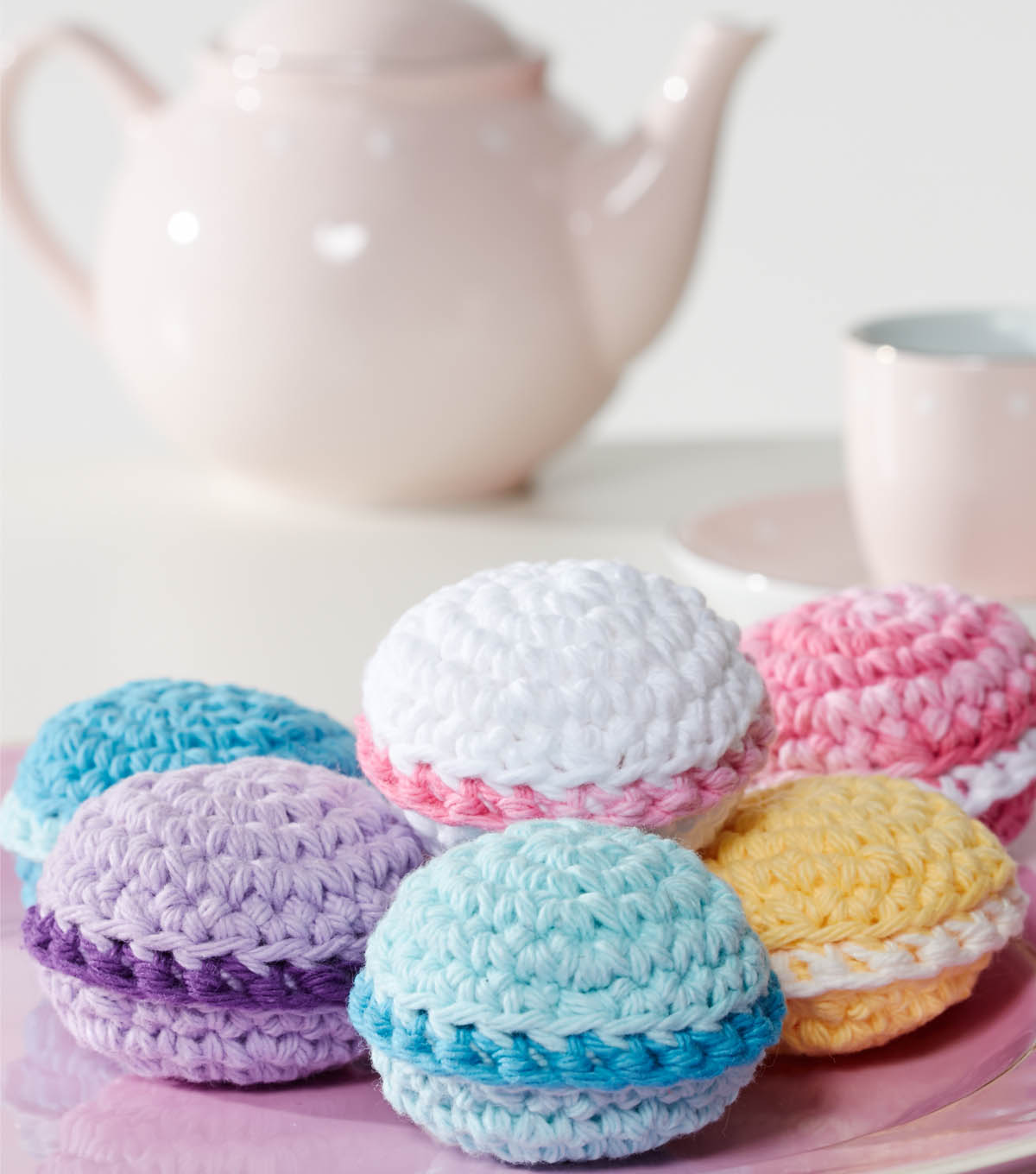 Crocheted Macaroons