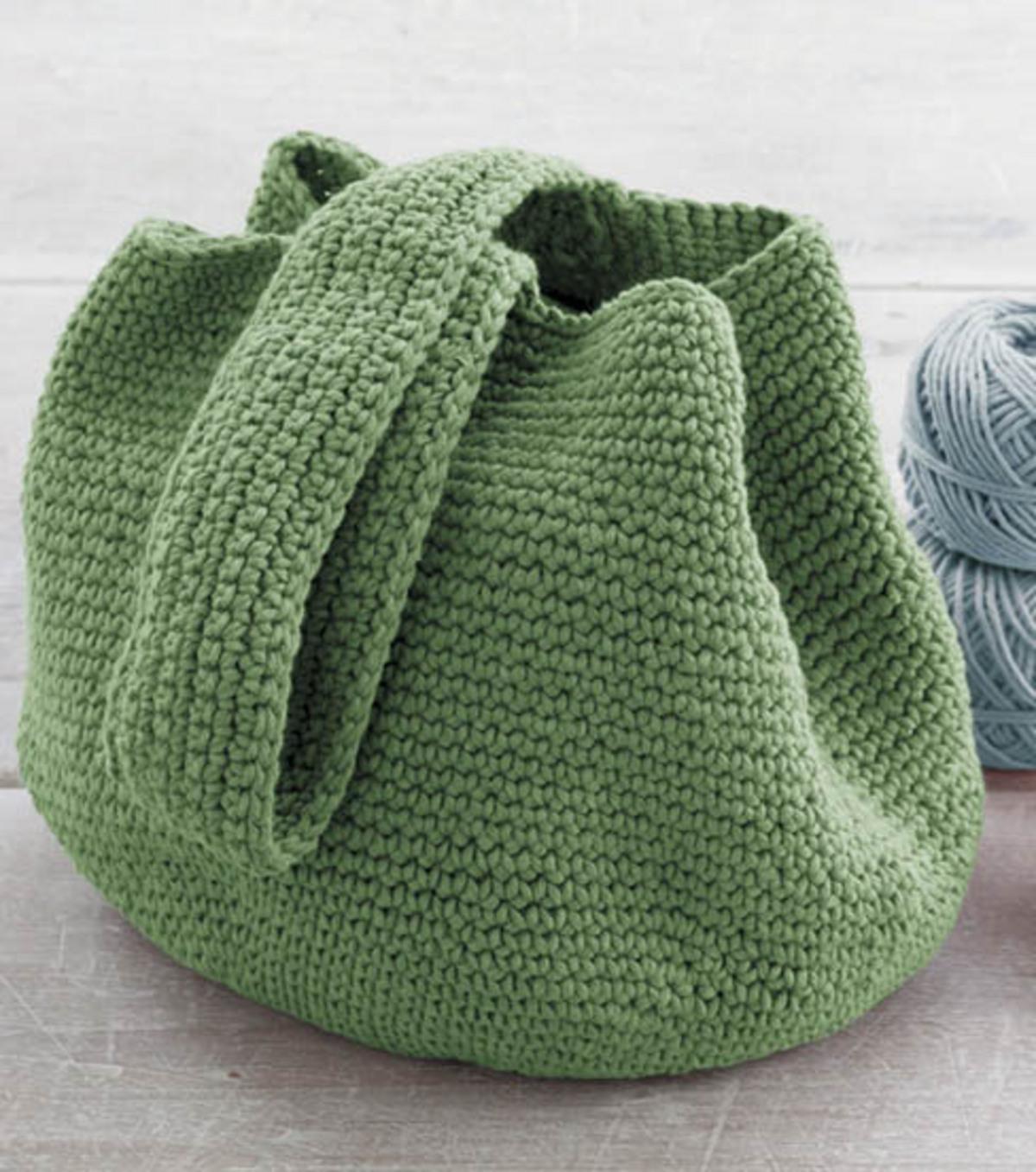 Crochet Bucket Bag Joann