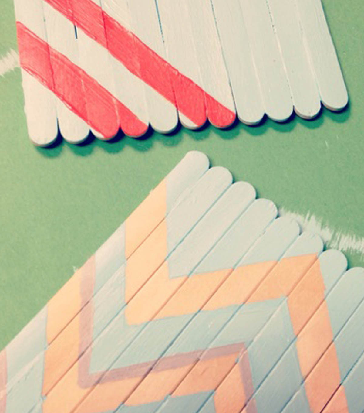 Popsicle Stick Coaster