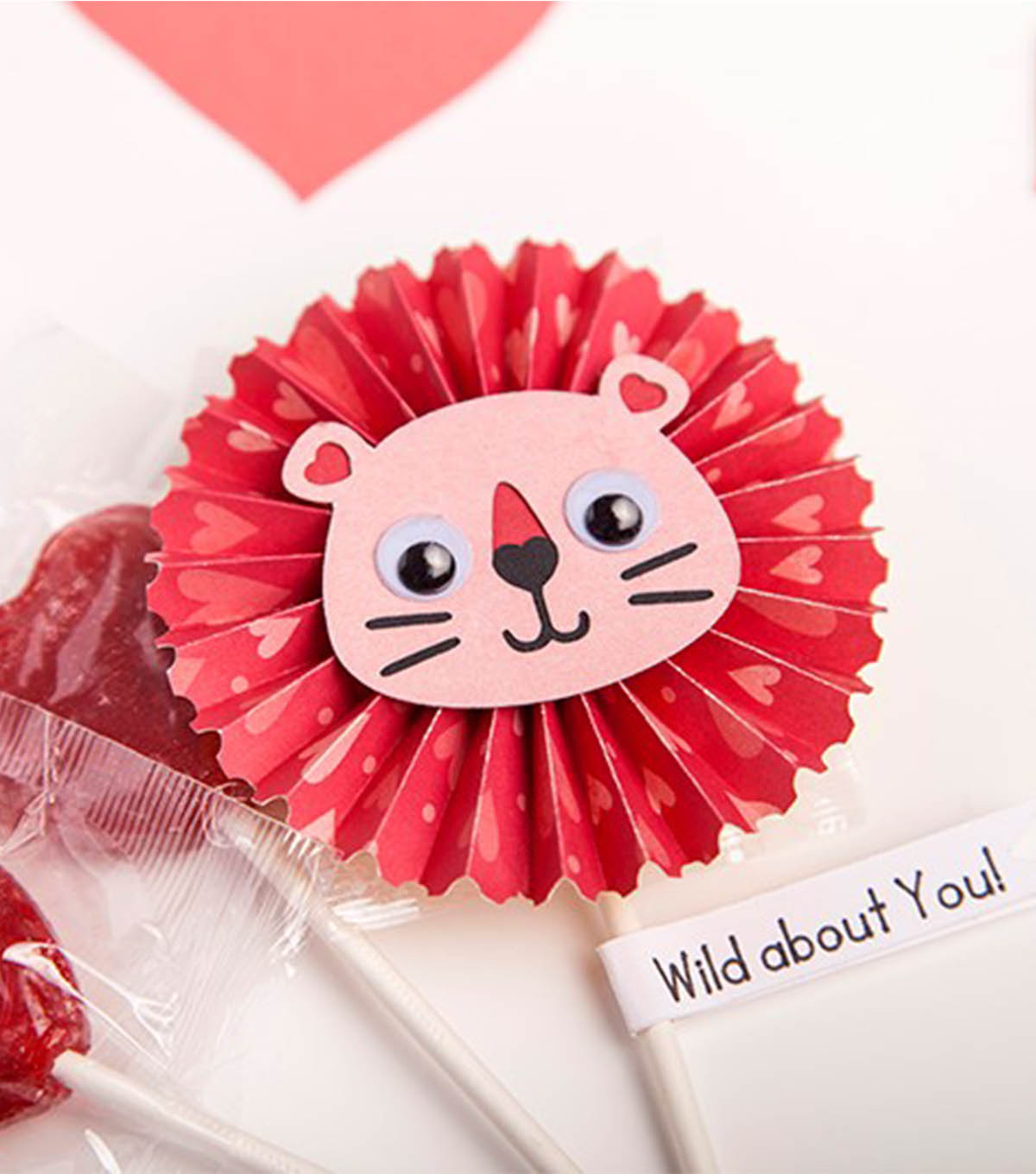 Simple Origami Lollipop Instructions Step by Step - Kids Can Make | 1360x1200