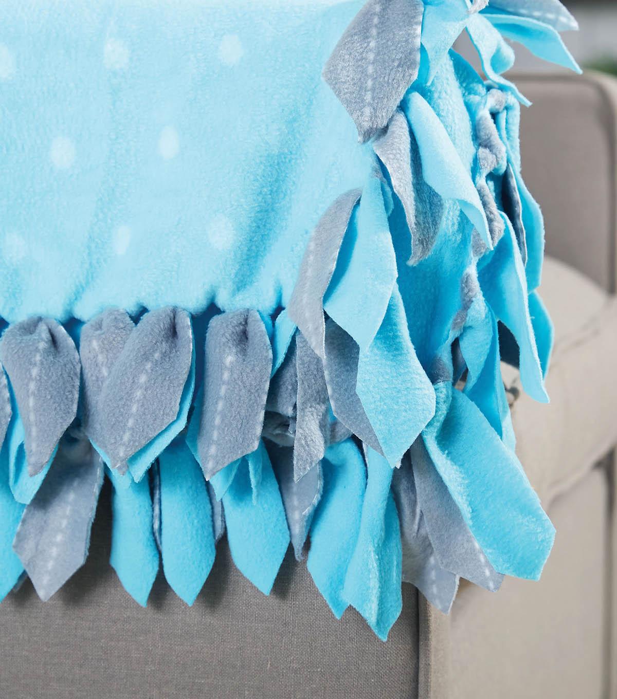 How To Make A Bunny Ear No Sew Fleece Blanket Joann