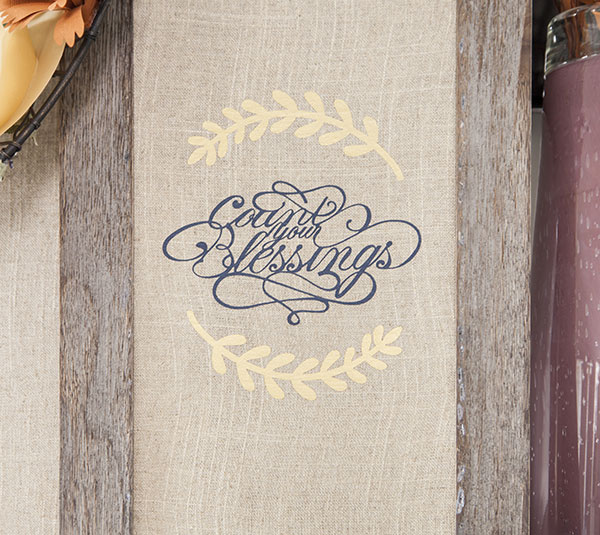 How To Make A \u0022Count Your Blessings\u0022 Wall Art