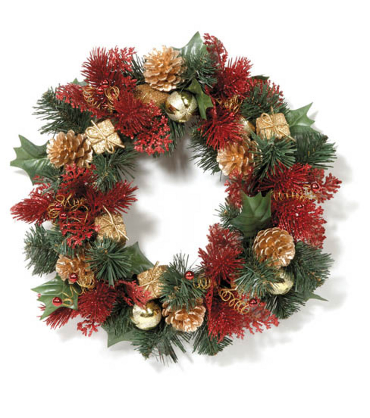 Red & Green Wreath