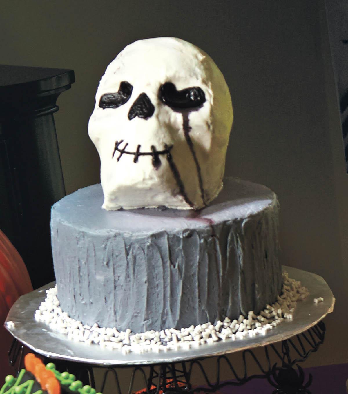 Scary Skull Cake | JOANN