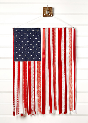 USA Ribbon Flag