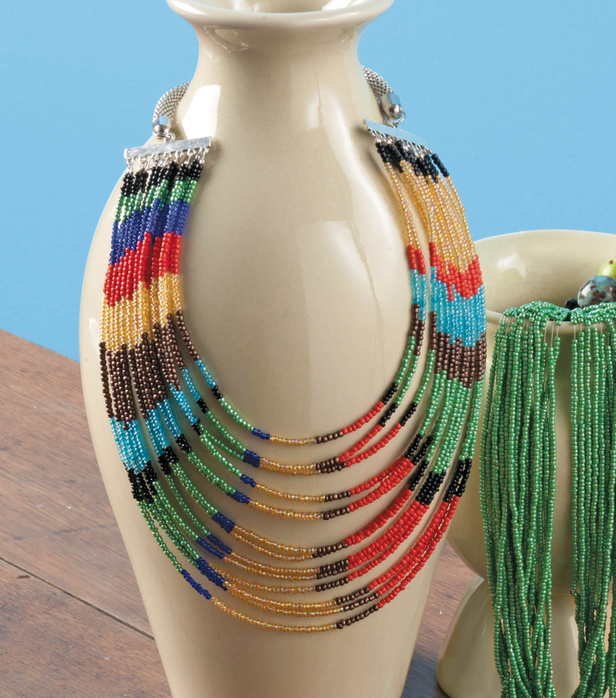 Seed Bead Pattern Necklace