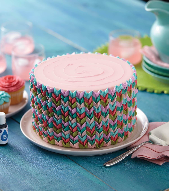 Vibrant Petals Cake  JOANN