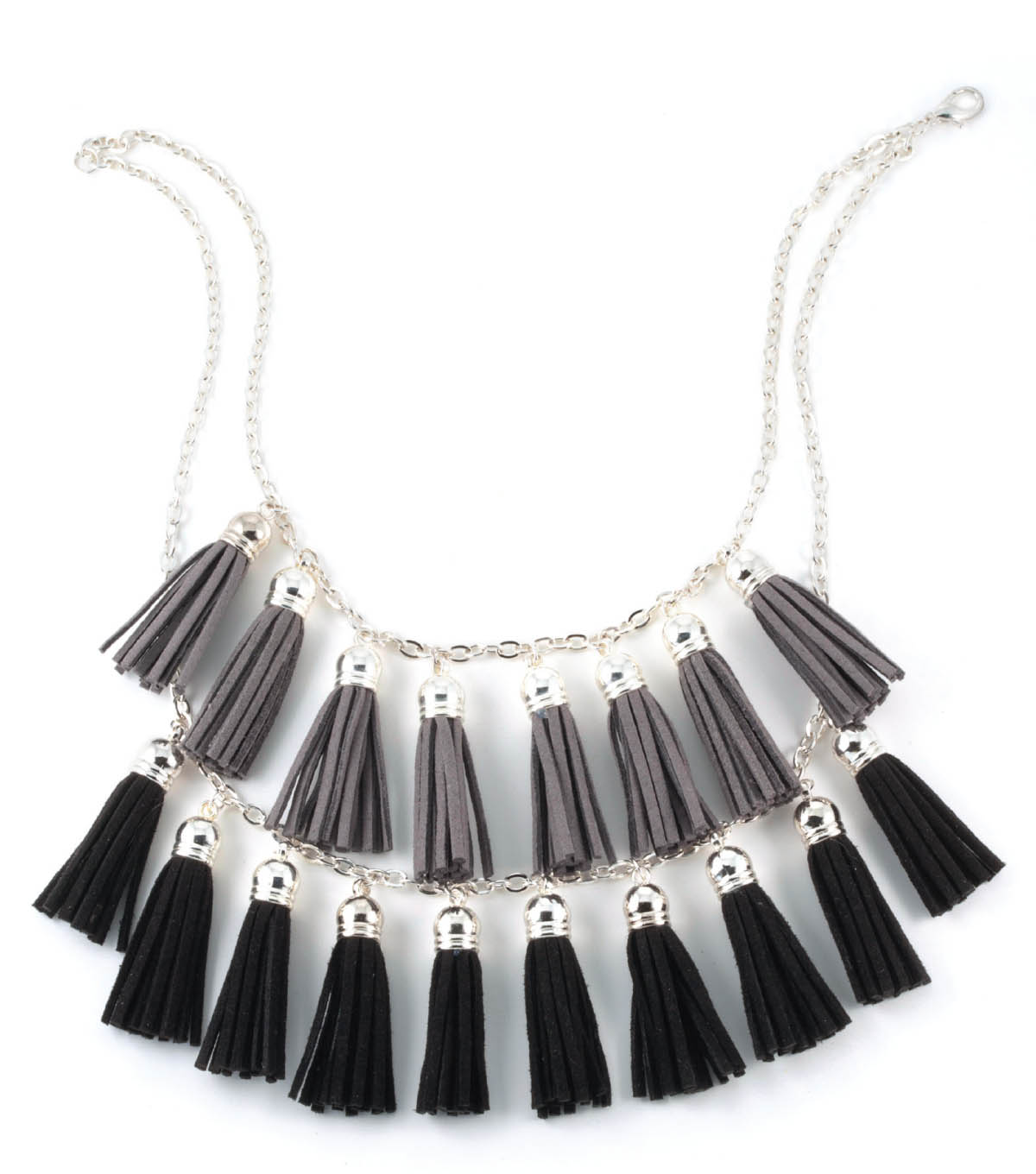 Ombre Fringe Necklace