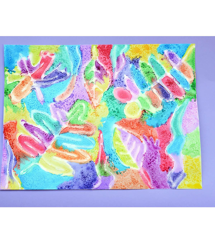 watercolor resist painting joann