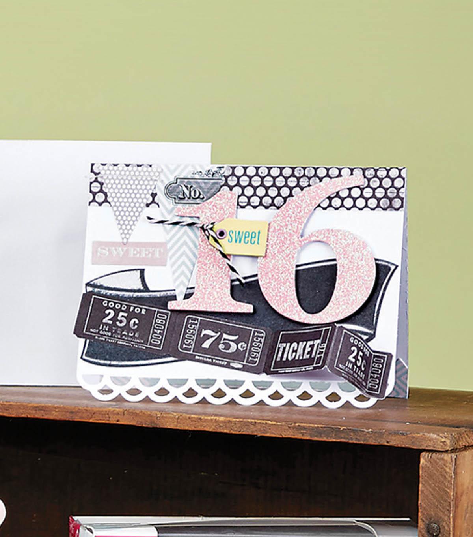 Sweet 16 birthday card joann sweet 16 birthday card bookmarktalkfo Choice Image