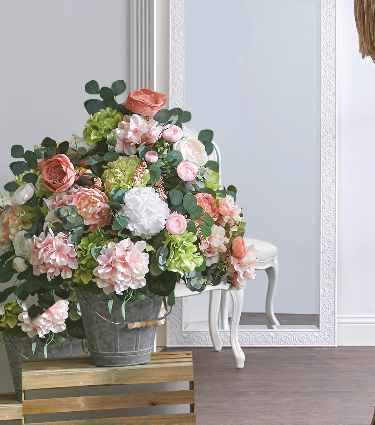 How To Make Entryway Floral Arrangements