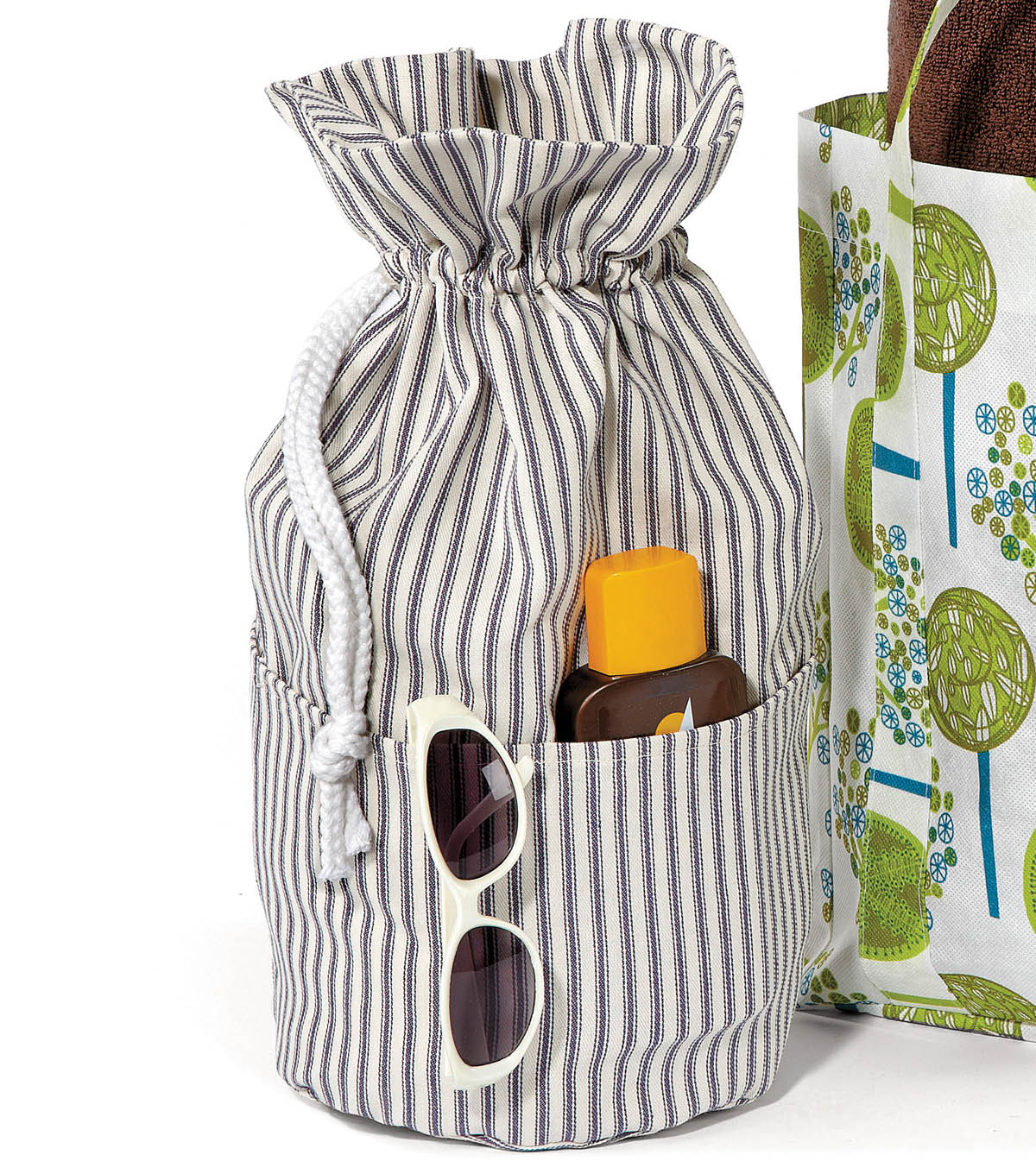 Utility Fabric Tote Bag