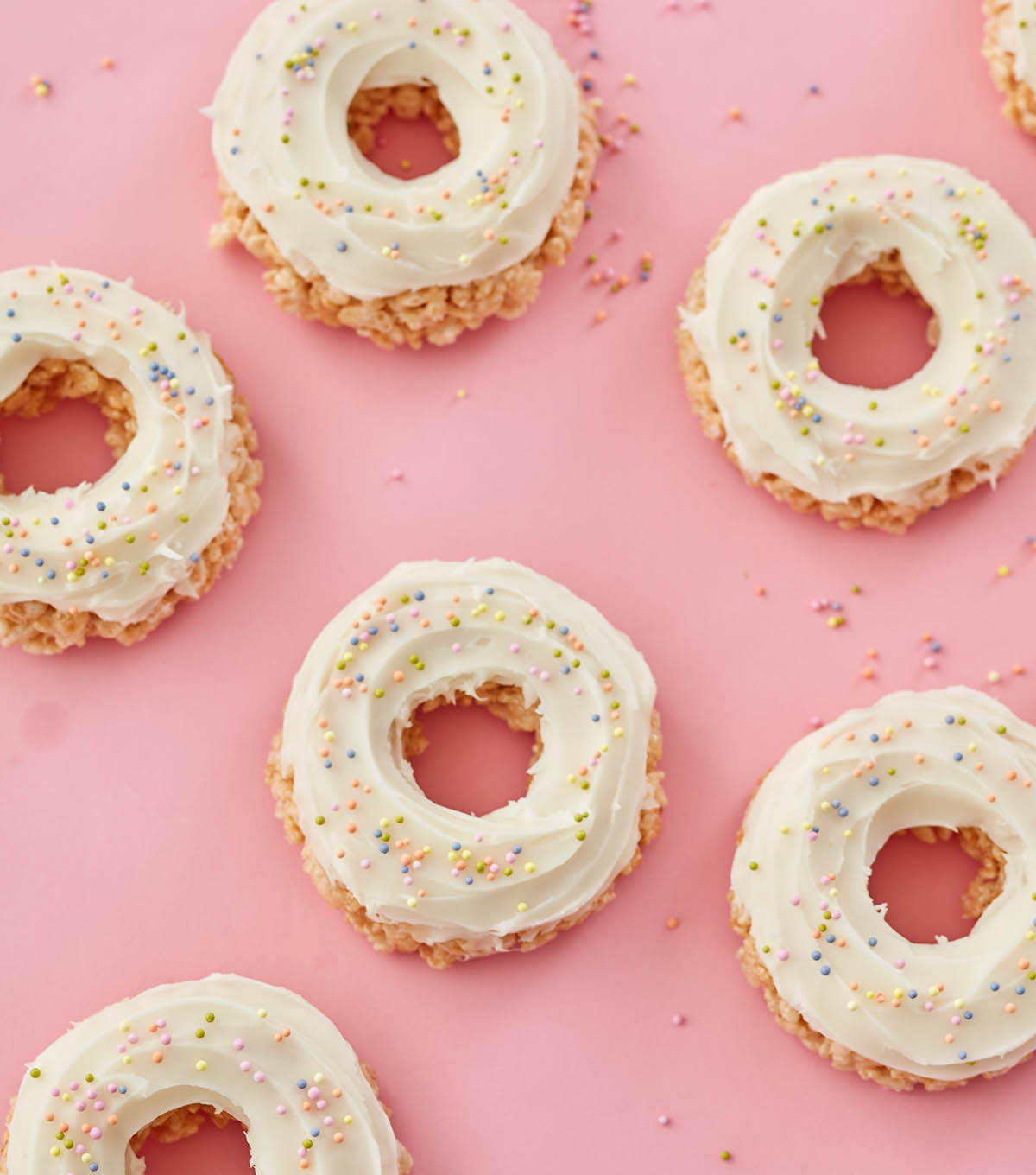 How To Make A Rice Cereal Treat Donuts
