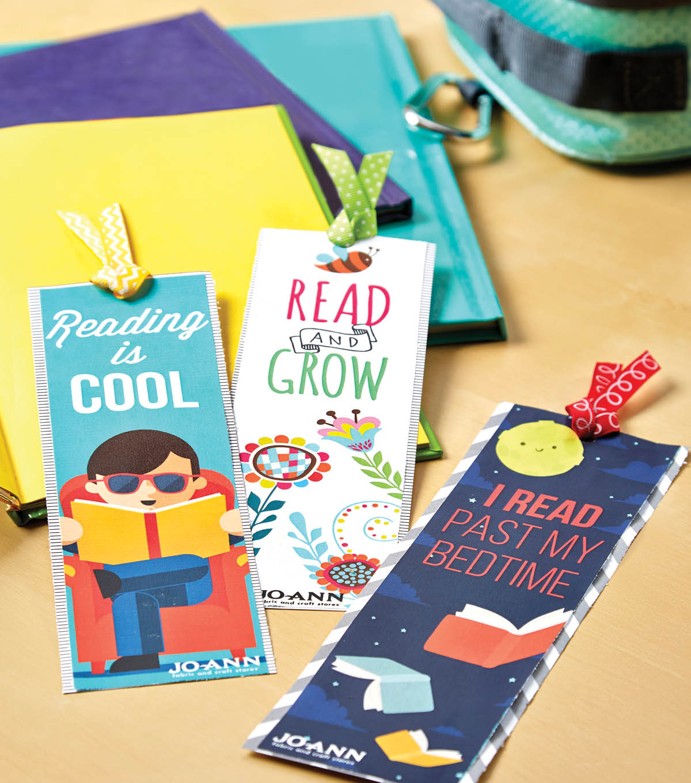 free printable bookmarks for kids - diy bookmarks | joann