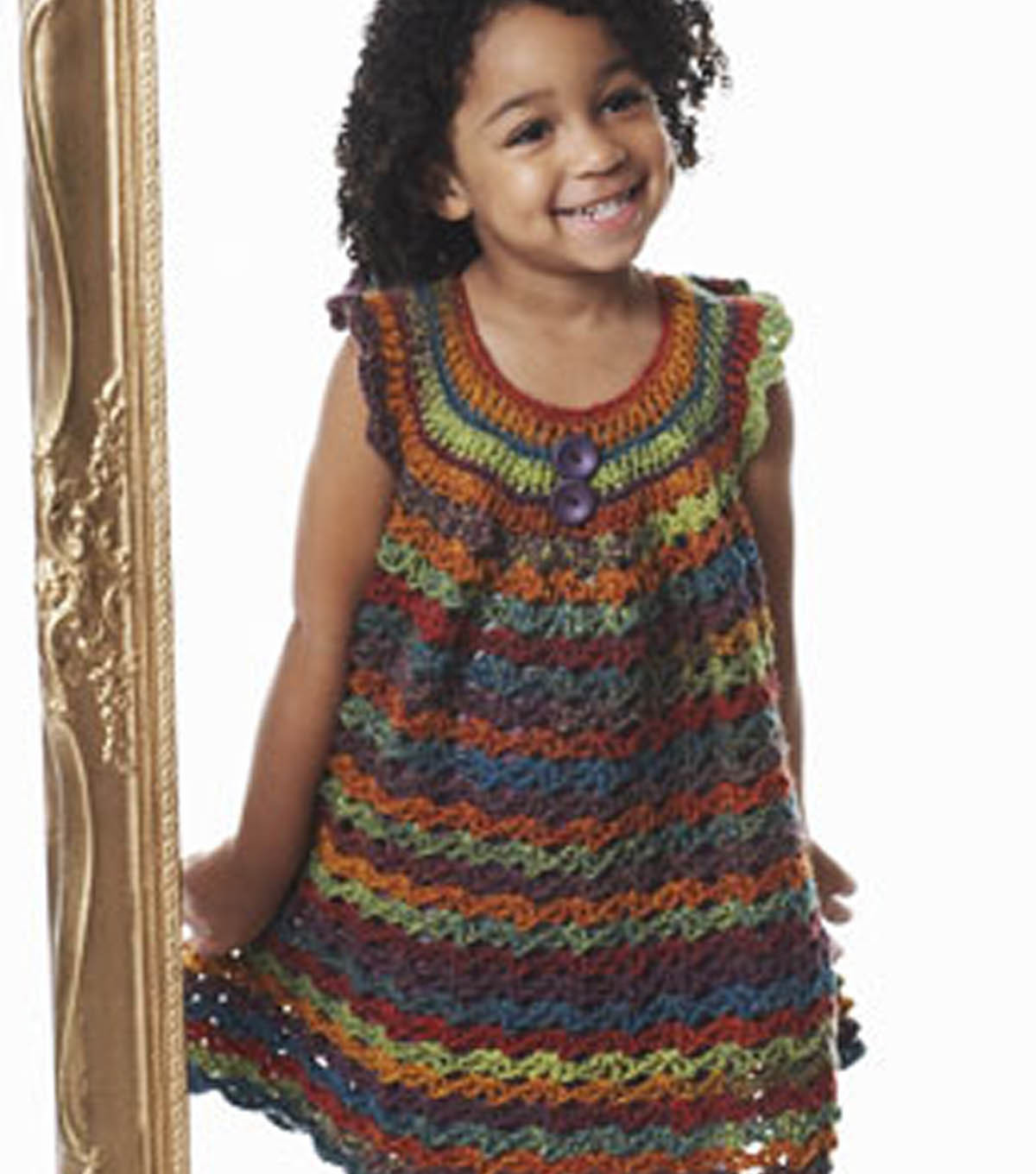 Girl\'s Lace Pinafore | JOANN