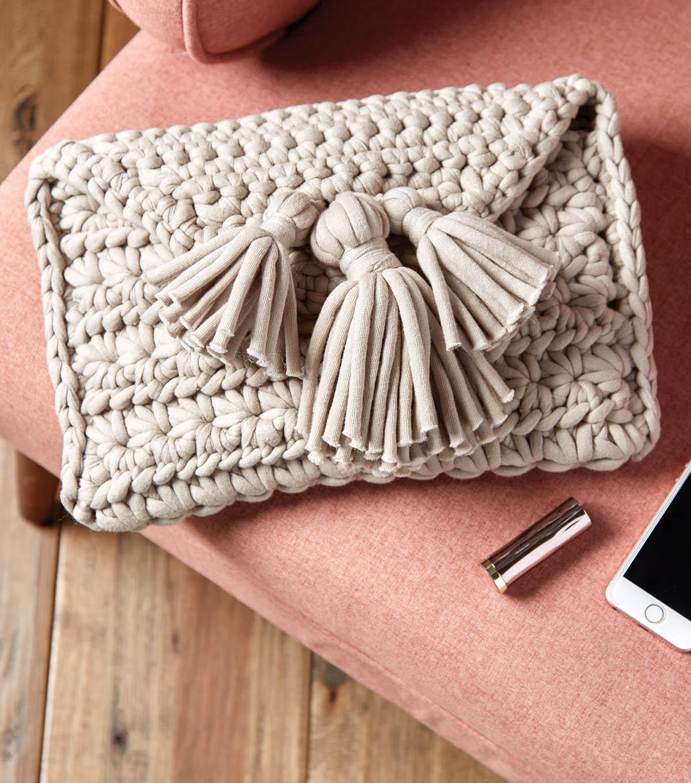 How To Make A Crochet Clutch Joann