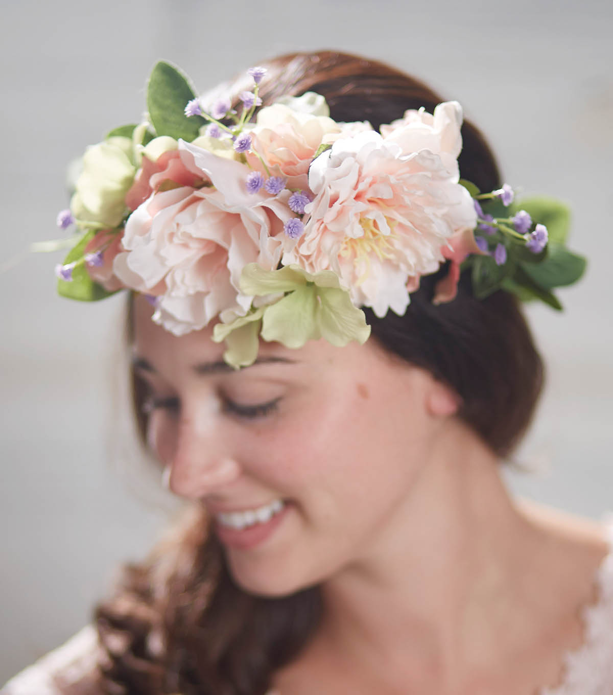How to make a long leaf flower bunch garland crown joann how to make a long leaf flower bunch garland crown izmirmasajfo