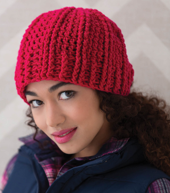 Ridged Crochet Hat | JOANN