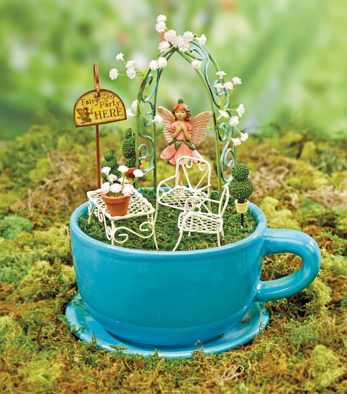 Fairy Garden - Tea Party Scene | JOANN | JOANN